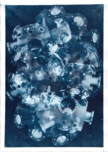 Cyanotype Cyanotypes Blueprint Young Artist Contemporary Art Emerging Artist